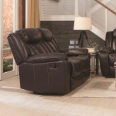 Coaster Bevington Chocolate Loveseat Available Online in Dallas Fort Worth Texas