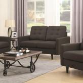 Coaster Kesson Charcoal Loveseat Available Online in Dallas Fort Worth Texas