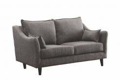 Coaster Rhys Dark Grey Loveseat Available Online in Dallas Fort Worth Texas
