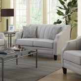 Coaster Loxley Grey Loveseat Available Online in Dallas Fort Worth Texas