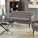 Coaster Dawson Grey Loveseat Available Online in Dallas Fort Worth Texas
