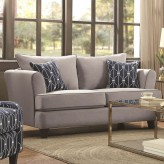 Coaster Hallstatt Flax Loveseat Available Online in Dallas Fort Worth Texas
