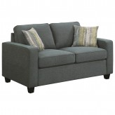 Coaster Brownswood Blue Loveseat Available Online in Dallas Fort Worth Texas
