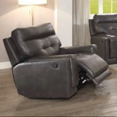 Coaster Trenton Dark Brown Glider Recliner Available Online in Dallas Fort Worth Texas