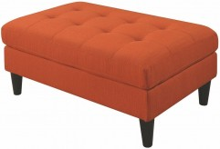 Coaster Kesson Orange Ottoman Available Online in Dallas Fort Worth Texas