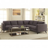 Coaster Azalea Cocoa Bean Sectional Available Online in Dallas Fort Worth Texas