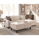 Montgomery Cream Sectional Available Online in Dallas Fort Worth Texas