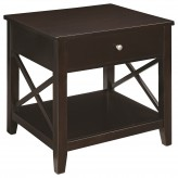 Coaster Scott Espresso End Table Available Online in Dallas Fort Worth Texas