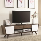 Coaster Maeve Two-Tone TV Console Available Online in Dallas Fort Worth Texas