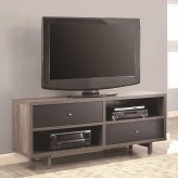 Coaster Maeve Grey and Black TV Console Available Online in Dallas Fort Worth Texas