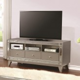 Coaster Zinnia Silver TV Console Available Online in Dallas Fort Worth Texas