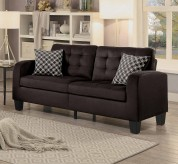 Homelegance Sinclair Chocolate Sofa Available Online in Dallas Fort Worth Texas