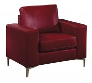 Homelegance Iniko Red Chair Available Online in Dallas Fort Worth Texas
