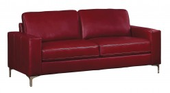 Homelegance Iniko Red Sofa Available Online in Dallas Fort Worth Texas