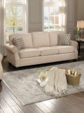 Homelegance Bechette Natural Sofa Available Online in Dallas Fort Worth Texas
