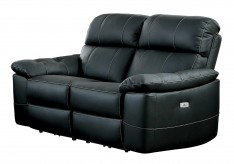 Homelegance Nicasio Black Power Double Reclining Loveseat Available Online in Dallas Fort Worth Texas