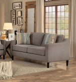 Homelegance Lotte Brown Love Seat Available Online in Dallas Fort Worth Texas