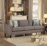 Homelegance Lotte Brown Sofa Available Online in Dallas Fort Worth Texas