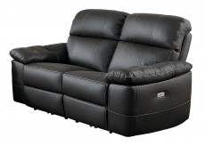 Homelegance Nicasio Dark Brown Power Double Reclining Love Seat Available Online in Dallas Fort Worth Texas