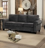 Homelegance Cornelia Dark Gray Sofa Available Online in Dallas Fort Worth Texas
