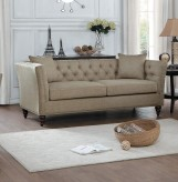Homelegance Marceau Tan Sofa Available Online in Dallas Fort Worth Texas