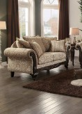 Homelegance Thibodaux Neutral Tone Loveseat Available Online in Dallas Fort Worth Texas
