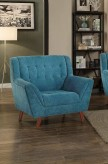 Homelegance Erath Blue Chair Available Online in Dallas Fort Worth Texas