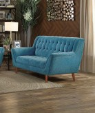 Homelegance Erath Blue Love Seat Available Online in Dallas Fort Worth Texas