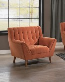 Homelegance Erath Orange Chair Available Online in Dallas Fort Worth Texas