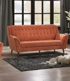 Homelegance Erath Orange Sofa Available Online in Dallas Fort Worth Texas