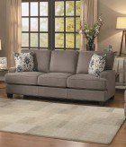 Homelegance Kenner Brown Sofa Available Online in Dallas Fort Worth Texas