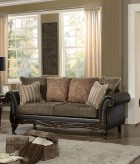 Homelegance Thibodaux Dark Brown Sofa Available Online in Dallas Fort Worth Texas