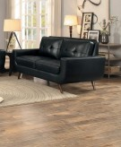 Homelegance Deryn Black Love Seat Available Online in Dallas Fort Worth Texas