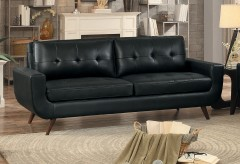 Homelegance Deryn Black Sofa Available Online in Dallas Fort Worth Texas