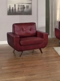 Homelegance Deryn Red Chair Available Online in Dallas Fort Worth Texas