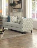 Homelegance Temptation Light Gray Love Seat Available Online in Dallas Fort Worth Texas