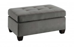 Homelegance Emilio Taupe Ottoman Available Online in Dallas Fort Worth Texas