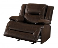 Homelegance Okello Brown Glider Reclining Chair Available Online in Dallas Fort Worth Texas