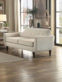Homelegance Ajani Beige Love Seat Available Online in Dallas Fort Worth Texas