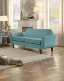 Homelegance Ajani Teal Love Seat Available Online in Dallas Fort Worth Texas