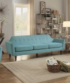 Homelegance Ajani Teal Sofa Available Online in Dallas Fort Worth Texas