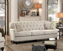 Homelegance Clemencia Natural Sofa Available Online in Dallas Fort Worth Texas