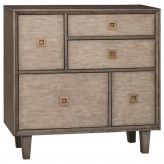 Scott Weathered Grey Accent Cabinet Available Online in Dallas Fort Worth Texas