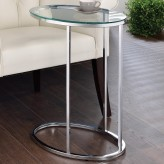Coaster Mauve Chrome Accent Table Available Online in Dallas Fort Worth Texas