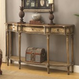 Coaster Eclectic Light Brown Console Table Available Online in Dallas Fort Worth Texas