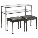 Coaster Zinnia Black Console Ta... Available Online in Dallas Fort Worth Texas