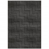 Coaster Millennium Plus Gray and Black Large Rug Available Online in Dallas Fort Worth Texas