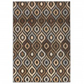 Coaster Millennium Plus Brown and Blue Small Rug Available Online in Dallas Fort Worth Texas