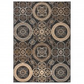 Coaster Millennium Plus Black and Golden Large Rug Available Online in Dallas Fort Worth Texas