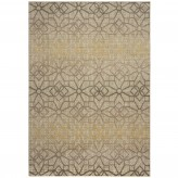 Coaster Barcelona Gray and Golden Small Rug Available Online in Dallas Fort Worth Texas